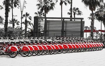 Beaucoup de vélos à Barcelone sur Irene Lommers