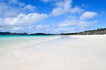 Australië Whitehaven Beach van Robert Styppa
