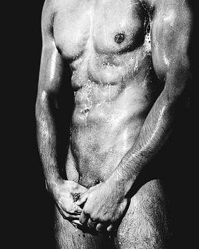 Nackter Mann mit schönem Körper #0078 von william langeveld