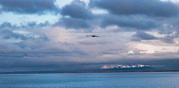Baai van Keflavik IJsland van eusphotography