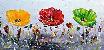 Flowers von Gena Theheartofart