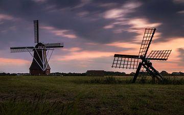 Mühle de Dellen in Nieuw-Scheemda von Marga Vroom