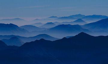 Landschap Franse Alpen van Mario Brussé Fotografie