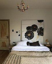 Kundenfoto: Blumen botanischer Blumendruck von Raisa Zwart, auf medium_16