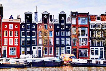 Huizen aan de Amstel Amsterdam van