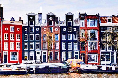 Huizen aan de Amstel Amsterdam