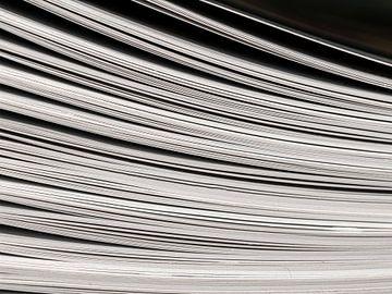 Lijnenspel van bladzijden van Li Wa