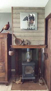 Klantfoto: Achterwerk Koe van Pieter Hogenbirk