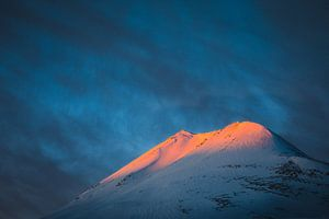 Zonsopkomst op de Lyngen Alpen - Tromsø, Noorwegen