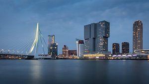 Skyline Rotterdam van Samantha Schoenmakers