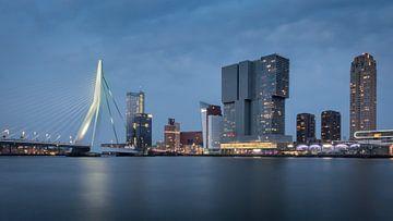 Skyline von Rotterdam von