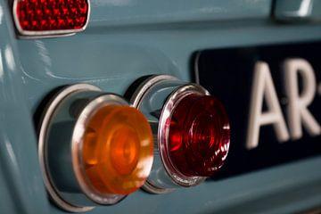 Citroën Ami6 achterlicht detail van Sim Van Gyseghem
