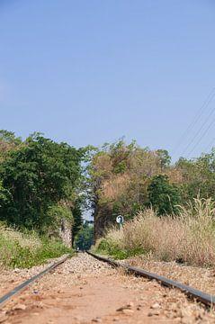 River Kwai Railway bei Kanchanaburi von Peter Baier