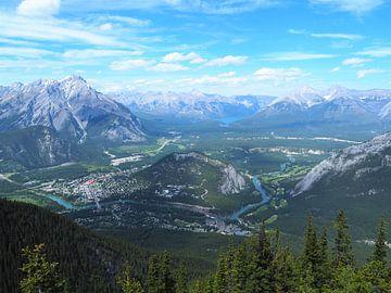 Sulphur Mountain - Banff von Justin van Schaick