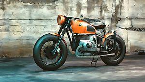 Oude motor BMW