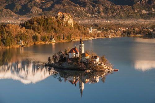 Lake Bled van Narandžić Dean