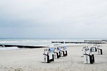 Strandkorbe in  Kuhlungsborn van Marit Lindberg