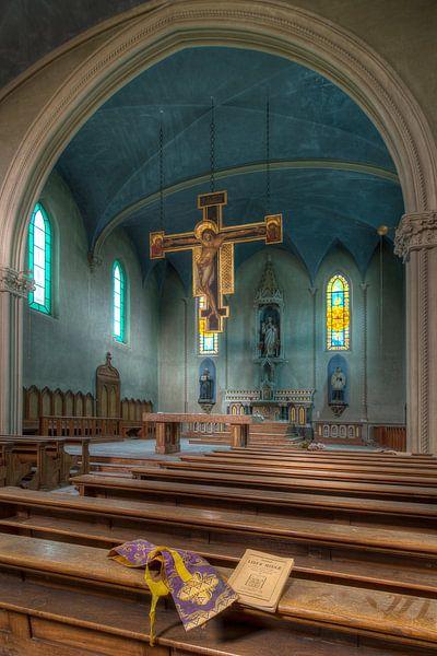 Verlaten kerk van Truus Nijland