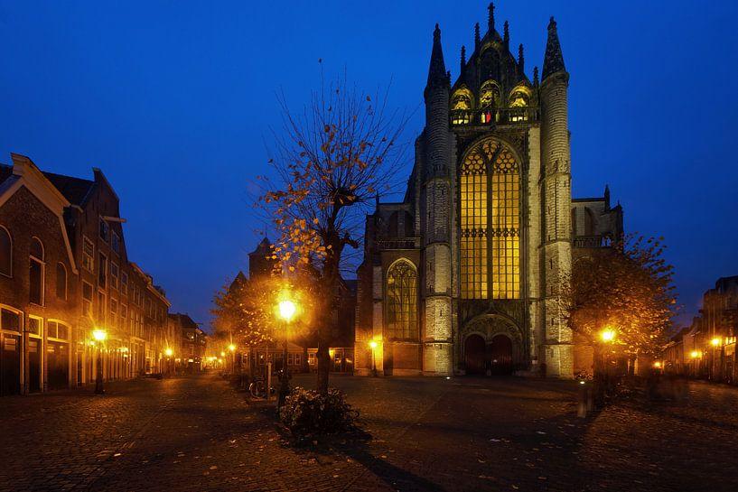 straatbeeld Leiden van Dirk van Egmond