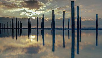 Landschaft im Meer von Jolanda van Straaten