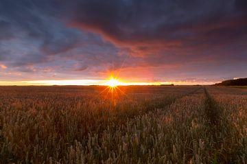 Landscape sunset von Marcel Kerdijk