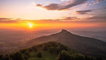Hohenzollern Kasteel Duitsland van Achim Thomae
