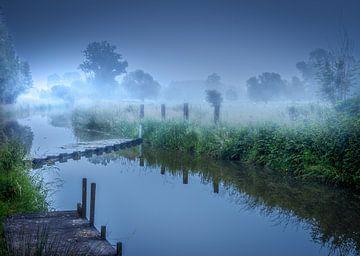 Zwalm sunrise van Wim van D