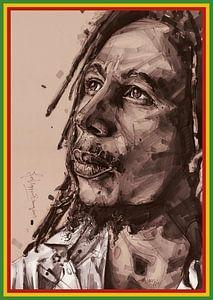 Bob-Marley-Gemälde