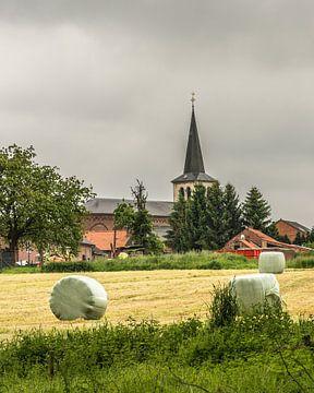 Bauerndorf in Limburg, Belgien von Martine Dignef