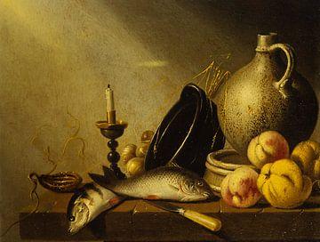 stilleven vis oude meesters van Geertjan Plooijer