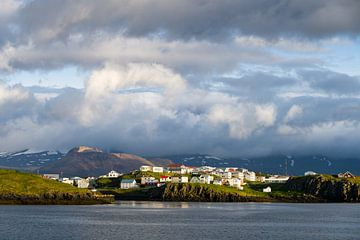 Stykkishólmur, IJsland van