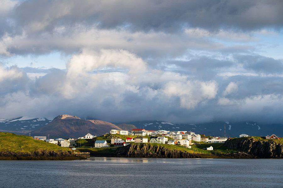 Stykkishólmur, IJsland van Joep de Groot