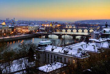 De bruggen van Praag sur
