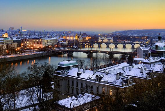 De bruggen van Praag