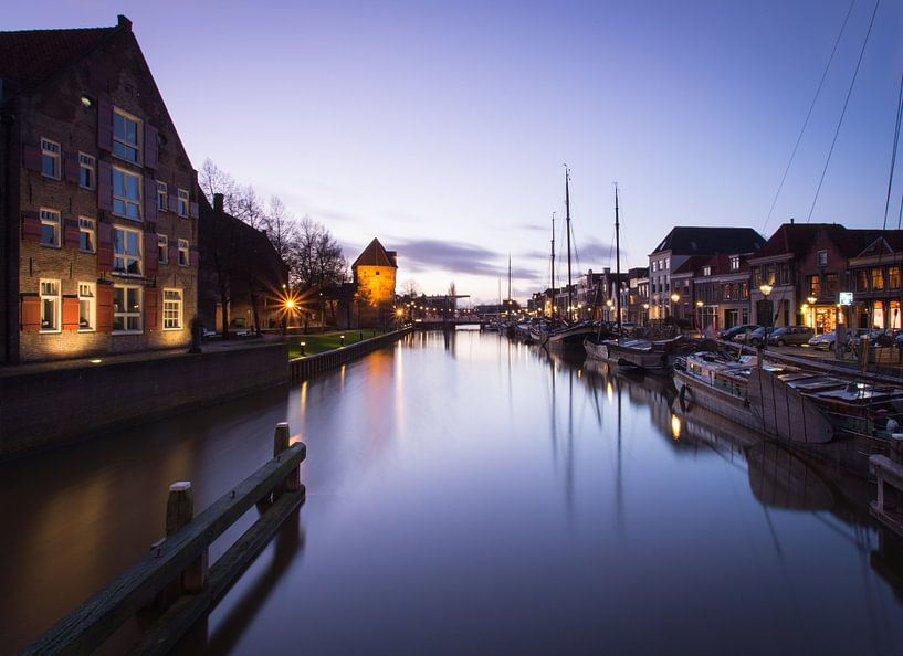 Zwolle in prachtlicht van Hanske Kroon