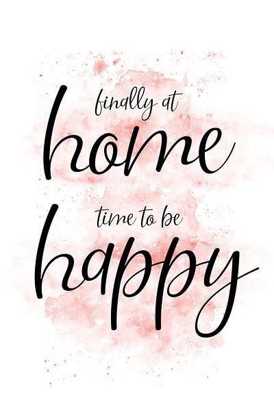 FINALLY AT HOME – TIME TO BE HAPPY van Melanie Viola