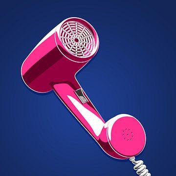 Nur heiße Luft am Telefon (Quadratformat)
