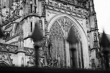 Die St. Johannes-Kathedrale in Schwarz-Weiß von Max ter Burg Fotografie