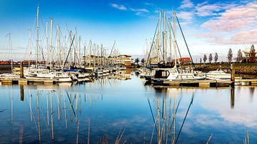 La marina de Wemeldinge sur Fotografie in Zeeland