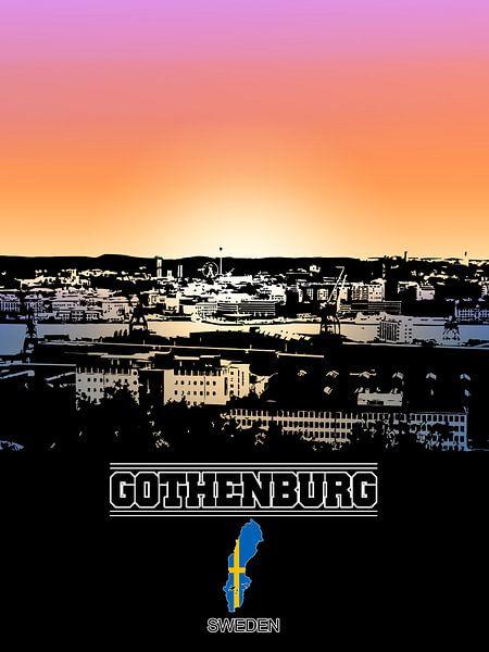 Göteborg van Printed Artings