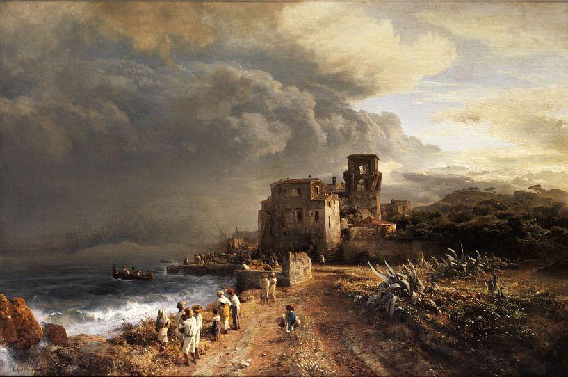 Oswald Achenbach.Landschaft von 1000 Schilderijen
