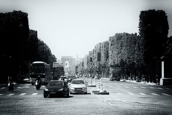 Avenue des Champs-Elysees van Leanne lovink