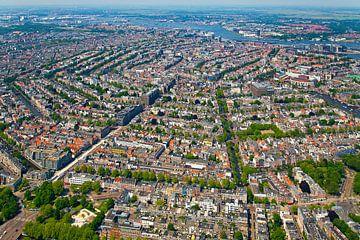Luchtfoto Amsterdam van Anton de Zeeuw