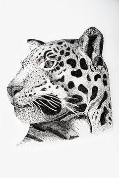 Leopard - Original von Lianne Landsman