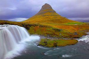 Kirkjufellfoss Island