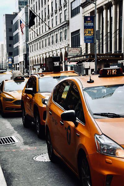 New York Yellow Cabs van Suzanne Brand