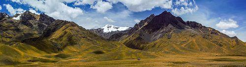 Sehr breites Panorama der Anden in Peru von Rietje Bulthuis
