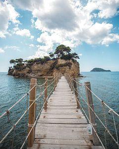 Brug naar Cameo Island.