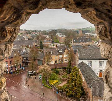 Uitzicht vanaf de Sint-Remigiuskerk in Simpelveld von John Kreukniet