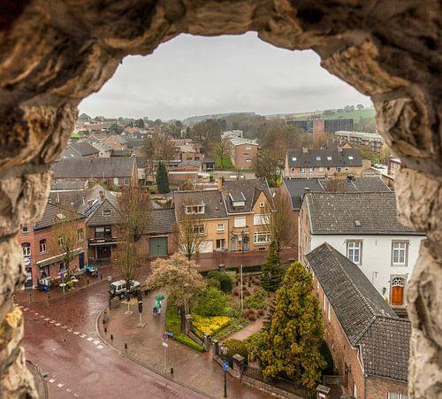 Uitzicht vanaf de Sint-Remigiuskerk in Simpelveld